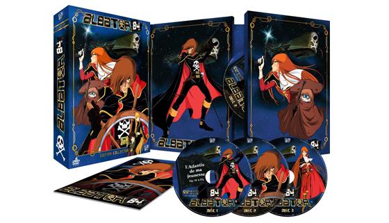 Albator Femme Pirate dvd albator en blu-ray le corsaire de l'espace, tous les dvd